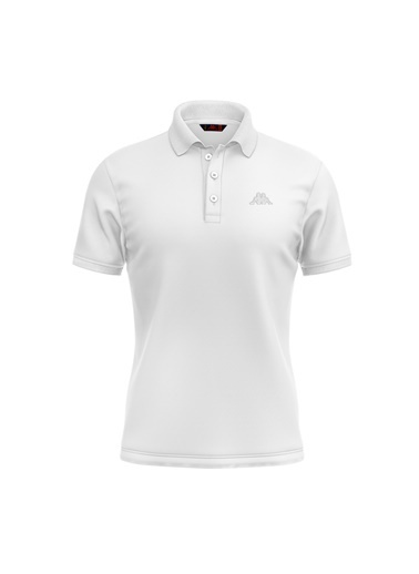 Robe di Kappa Rdk Polo T-Shirt Wıllıam  Beyaz